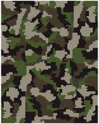 digital  camouflage - stock illustration