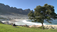 Camps Bay,Cape Town,South Africa Stock Footage
