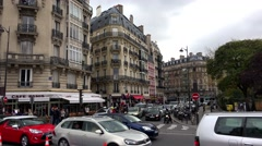 Paris. Architecture, attractions, old houses, streets and neighborhoods. Iconic Stock Footage