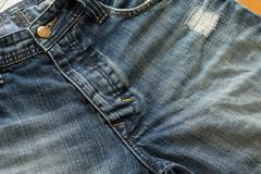 Stock Photo of denim jeans design of fashion jeans pants