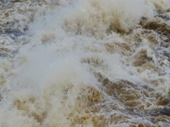 Bursts and splashes of a seething water, 4k Stock Footage
