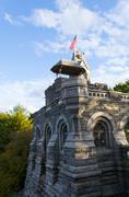 Belvedere castle - stock photo