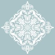 Damask Vector Oriental Pattern Stock Illustration
