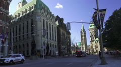 Uptown Ottawa 2015 Stock Footage