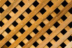 texture of slat wall - stock photo