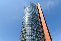 Unisys Tower Skyscraper In Vienna Stock Photos