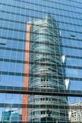 Unisys Tower Skyscraper In Vienna - stock photo