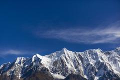 Nanjiabawa mountain in Tibet, China Stock Photos