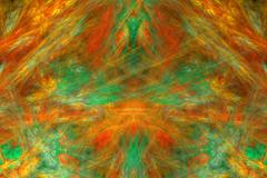 abstract fractal design that works great as a background - stock illustration