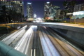 8K Freeway Traffic Time Lapse UHD 02 LA Downtown 110 Freeway Loop 4k or 4k+ Resolution