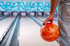 Stock Photo of Bowling ball