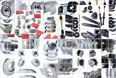 Stock Photo of Many images of new spare parts kit