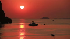 Phi Phi islands Sunset Stock Footage