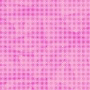 Dots on Pink Background. Halftone Texture - stock illustration