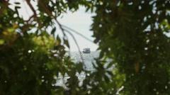 Fishing Boat - Bombinhas/SC - Brazilian Beach (Paradise) 06 Stock Footage