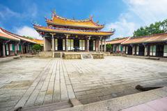 The Taipei Confucius Temple in Taiwan - stock photo
