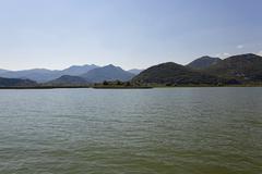 Skadar Lake . Montenegro. - stock photo