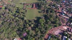Aerial - Redução De San Ignacio Mini, Misiones / Argentina 60fps 12 Stock Footage