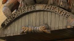 Marionette Theatre in Prague Stock Footage