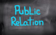 Stock Illustration of Public Relations Concept