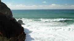 Praia do Norte Stock Footage