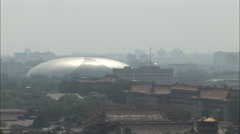 Egg National Theatre, Beijing, China - stock footage