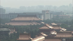 Forbidden City & History Museum, China Stock Footage