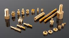 Mechanical spare parts Stock Photos