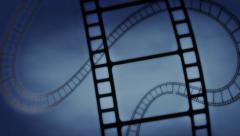 Looping Film Reel Background - stock footage