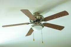 ceiling fan - stock photo