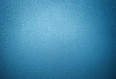 Blue frosted glass texture background Stock Photos