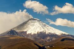 Stock Photo of Cotopaxi Volcano 2015 Eruption South America