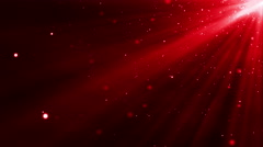 4k Red Particles Light Stream Animation Background Seamless Loop. Stock Footage