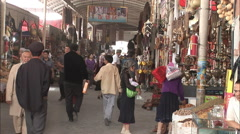 Kashgar Grand Bazaar, China Stock Footage