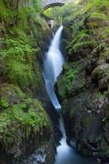 Stock Photo of Famous Aira Force waterfall  in Lake District