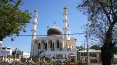 Mosque Keizerstraat Stock Footage
