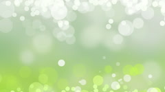 Green White Background Loop Nature Fairy Magic Soft Defocused - stock footage