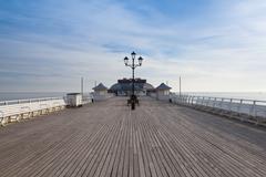 Cromer Pier in Great Britain Stock Photos