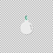 i Bomb Alpha animation clip for video or presentation - stock footage