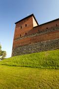 Lida castle , Belarus - stock photo
