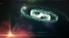 Hyperjump Earth - stock footage