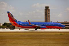 Stock Photo of Southwest Airlines Boeing 737 taxiing