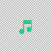 i Music Alpha animation clip for video or presentation - stock footage