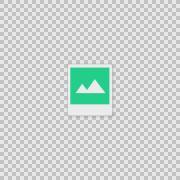 I Polaroid Alpha animation clip for video or presentation Stock Footage