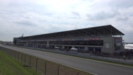 Stock Video Footage of 4k BMW Driving Experience at motorsport race course