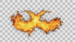 Fire Revealers Style - stock footage