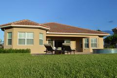Real Estate exterior - stock photo