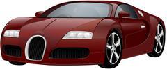 Vector luxury sports car Piirros