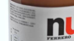 Nutella Jar Stock Footage