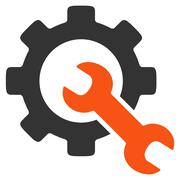 Service Tools Icon - stock illustration